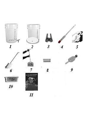 Basic Brew Kit w/Choice of Beer Kit