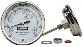 The BrewMometer Weldless Kettle Thermometer (Celsius)