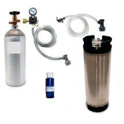 Basic Homebrew CO2 System (Ball Lock)