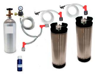 2 Keg Basic Homebrew CO2 System (Pin Lock)
