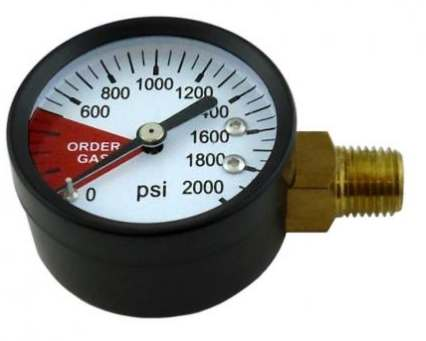 High Side Gauge (0-2000 RHT)